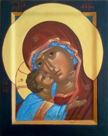 Παναγία η Γλυκοφιλούσα--Mother of God Theotokos Glykophylousa
