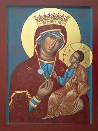 Mother of God Unwithering Rose - Παναγία ΡΟΔΟΝ ΤΟ ΑΜΑΡΑΝΤΟΝ
