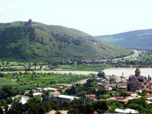 Jvari_monastery_Джвари грузинский монастырь - ჯვარი მცხეთაph_1380536617289233