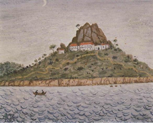Αϊβαλί_μοναστήρι της Αγ. Παρασκευής (Taşlı Manastır- Tımarhane Adası)_Photis Kontoglou Island_Ayvalik-Κυδωνίες_Ἁγία Παρασκευή,