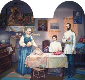 Παρασκευή-Πάσα του Σάρωφ, η δια Χριστόν Σαλή_Blessed Parasceva Ivanovna (Pasha of Sarov)_Блж. Параскева Дивеевская_09