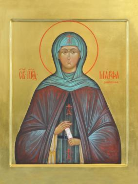 Μάρθα του Ντιβέεβο Schema-Nun Martha Преподобная Марфа Дивеевская (Милюкова)prp_Marfa
