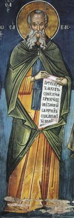 Σάββας ο Ηγιασμένος_Saint Sabbas the Sanctified_ св. Савва Освященный_ΣΑΒΒΑς