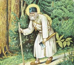 Άγιος Σεραφείμ Σάρωφ_St. Seraphim of Sarov_ Преподобный Серафим Саровский_Sf.-Serafim-de-Sarov_k_Andreu_Korobkovy