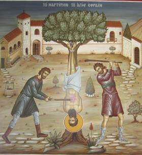 Εφραίμ Νέας Μάκρης_St. Ephraim of Nea Makri_Св Ефрем Новый Неа Макри_efrem-martirizat