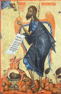 Ιωάννης ο Πρόδρομος_св.Иоанна Предтечи_ St. John the Forerunner _032_Icon_S. Giovanni Battista, 84x57 cm, Korça, Museo nazionale medievale, XVII sec.