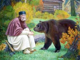 Σεραφείμ Σάρωφ_St. Seraphim of Sarov_ Преподобный Серафим Саровский_ΑΡΚΟΥΔΑ125151182_Σεραφειμ_